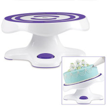 Wilton Tilt N Turn Cake Turntable Rotating Stand Easy Decorating