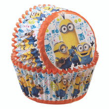 Minions Despicable Me 50 Baking Cups Cupcakes Liners Treats