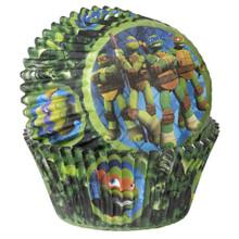 TMNT Teenage Mutant Ninja Turtles 50 Baking Cups Cupcakes Liners Treats