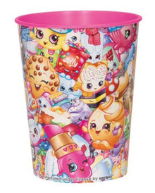 Shopkins Collection Plastic Favor Cup 16 oz Birthday Party