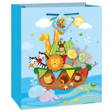 Noah's Ark Baby Shower Party Gift Bag Zebra, Lion, Elephant,