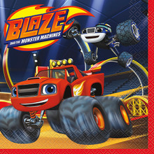 Blaze and the Monster Machines 16 Lunch Napkins Truck