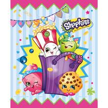 Shopkins Plastic 8 Ct Loot Favor Bags
