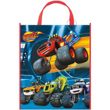 Blaze and the Monster Machines Party Tote Bag Loot Favor Trucks