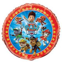 "Paw Patrol 18""  Round Foil Mylar Balloon Birthday Party Chase Marshall"