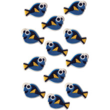 Finding Dory Icing Decorations 12 Ct Wilton Blue Fish