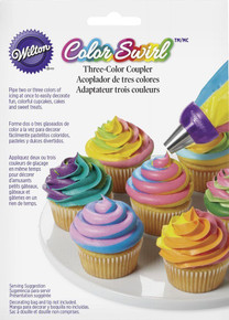Wilton ColorSwirl 3-Color Coupler for Tri-color Icing