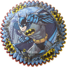 Batman 50 Baking Cups Party Supplies Cupcakes Liners
