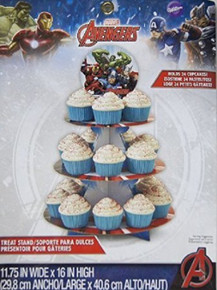 Wilton Avengers Treat Stand 24 Cupcake Holder Party Centerpiece