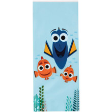 Finding Dory 16 Treat Bags 16 Ties Plastic Wilton