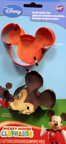 Mickey Mouse Wilton Colorful Metal Cookie Cutter Set 2 Pc Minnie