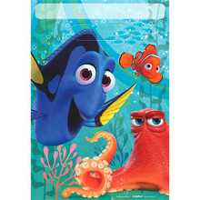 Finding Dory Birthday Party Favor Loot Bags Plastic 8 Pc