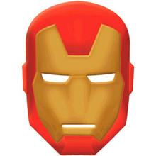Avengers Vac Form Mask Iron Man