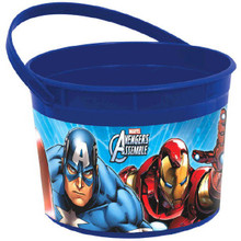 Avengers Favor Loot Plastic Container 1 pc Birthday Party