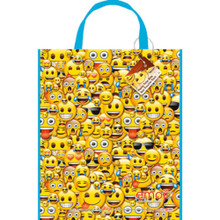 "Emoji Loot Favors Party Supplies Tote Bag 13"" x 11"""