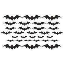 Mega Bat Cut Outs Value Pack Cemetery 30 Pc
