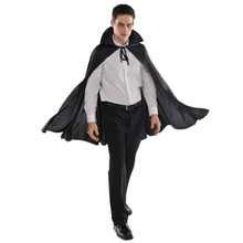 Adult Black Cape Vampire Dracula