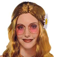 Hippie John Lennon Glasses Costume Sunglasses