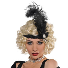 Hollywood Charleston Headband Roaring 20's Flapper Costume