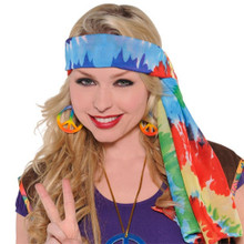 Hippie Headscarf 60's
