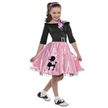 Miss Sock Hop Costume Girls Small 4-6 Costumes USA