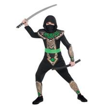 Deluxe Dragon Slayer Ninja Costume Child Boys Small 4-6