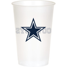 Dallas Cowboys NFL 8 20 oz Cups Plastic Football Tailgating Party