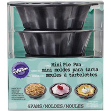 Wilton 4 Pc Mini Wave Pie Pan Set