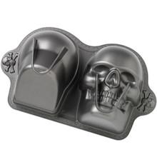 Skull Pan Wilton Dimensions 3D Halloween 3-D