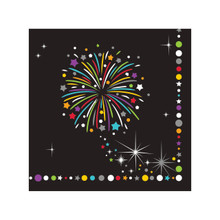 New Years Eve Sparkle Beverage Napkins 16 Ct Party