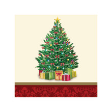 Perfect Pine Tree 16 Ct Beverage Napkins Christmas Party