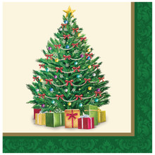 Perfect Pine Christmas Tree 16 Ct Lunch Napkins Party