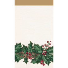 Winter Holly 16 Ct Guest Napkins Christmas Party