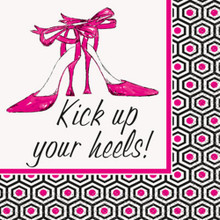 "Bachelorette Party ""Kick Up Your Heels"" 16 Beverage Napkins Shower Bridal"
