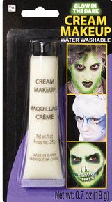 Cream Make-up Glow in the Dark .7 oz Tube