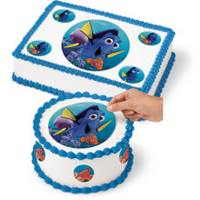 Wilton Finding Dory Peel & Place Sugar Sheets Cupcake Cake Toppers Disney Pixar