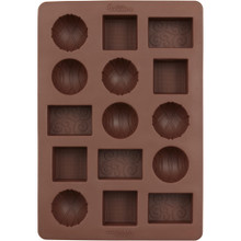 Wilton Box of Chocolates Patterned Silicone Candy Mold