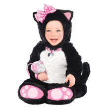 Itty Bitty Kitty Costume Mouse Rattle Infant 0-6 Months Costumes USA