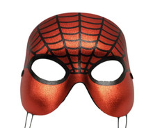 Masquerade Red Web Spider Mardi Gras Halloween Ball Mask