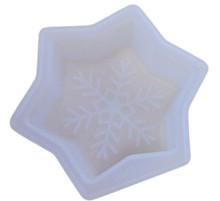 Wilton Snowflake Silicone Mold White 4.5 x 1.25