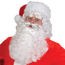 Santa Claus Wig and Beard Set with Eyebrows 4 pc