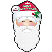 Santa Claus Facial Hair Set Mustache Beard