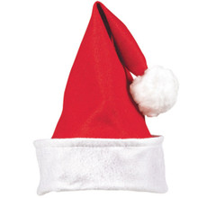 "Child's Felt Santa Claus Hat 13"" x 11"""