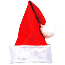 """Folded Cuff Felt Santa Claus Hat 15"""" x 12"""""""