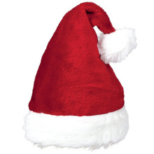 "Plush Santa Claus Hat 15"" x 11"""