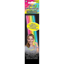 "8"" 5 Glow Sticks Tube Multi Color"