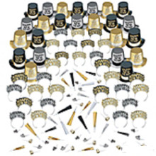 Opulent Affair New Years Eve Kit For 100 Top Hats Tiaras Blowouts  200 pc