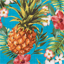Aloha 16 Ct Lunch Napkins Summer Luau Party Pineapple Hibiscus