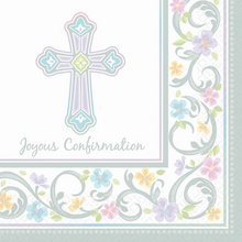 Blessed Day 36 Joyous Confirmation Luncheon Value Pack Napkins
