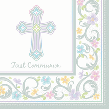 Blessed Day 36 First Communion Luncheon Value Pack Napkins